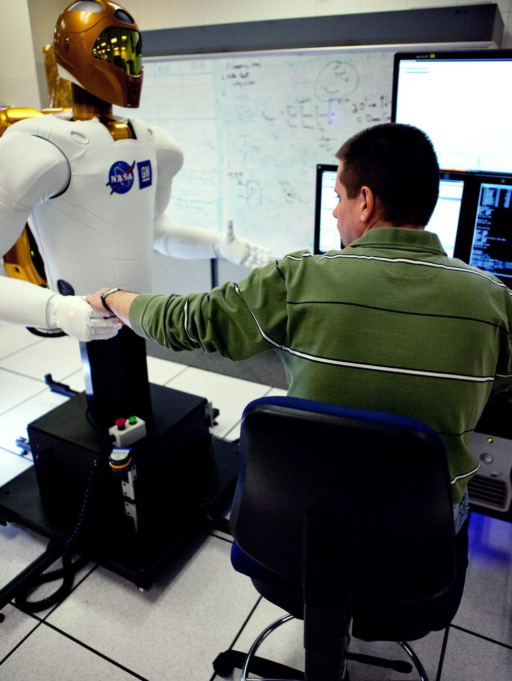 Robonaut 2 robot