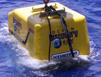 OCEAN DISCOVERY deploying