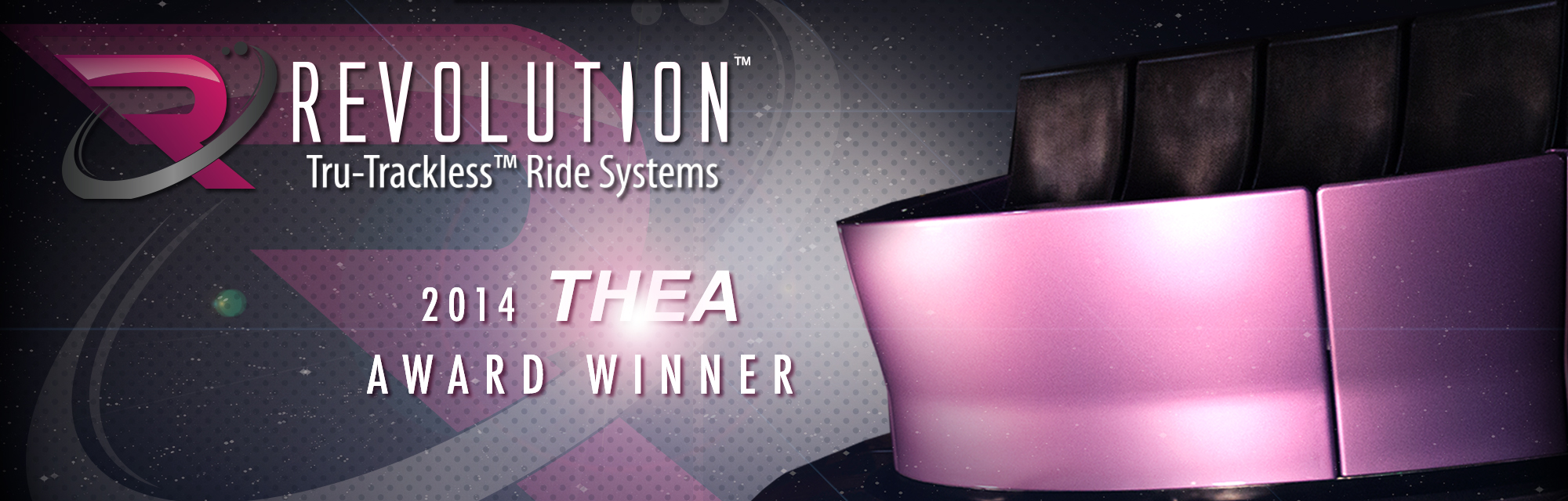 Revolution Tru-Trackless Wins Thea Technology Accolade