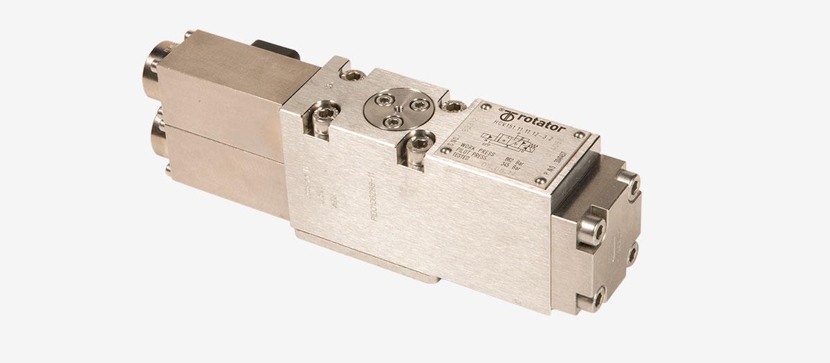 Hydraulic control valve (HCV) - High flow