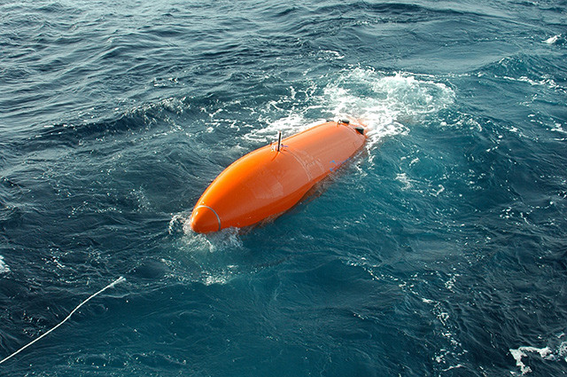 Surveying and Mapping - Deepwater Geophysical Autonomous Underwater Vehicle (AUV) Survey Launch