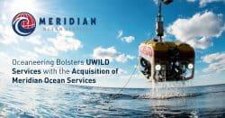 oceaneering, meridian, acquisition