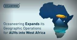 oceaneering, AUV, Africa