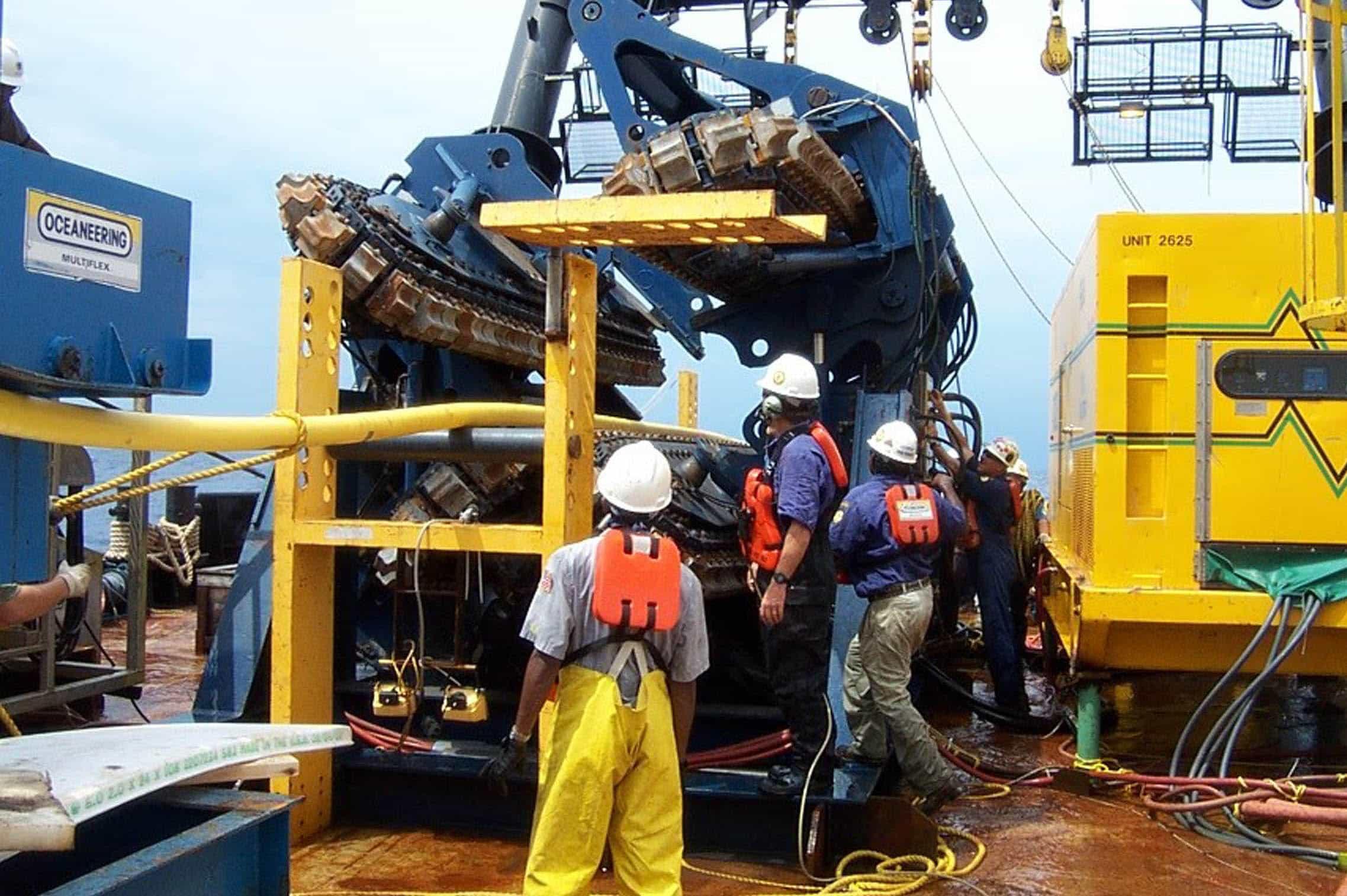 Vessels Oceaneering