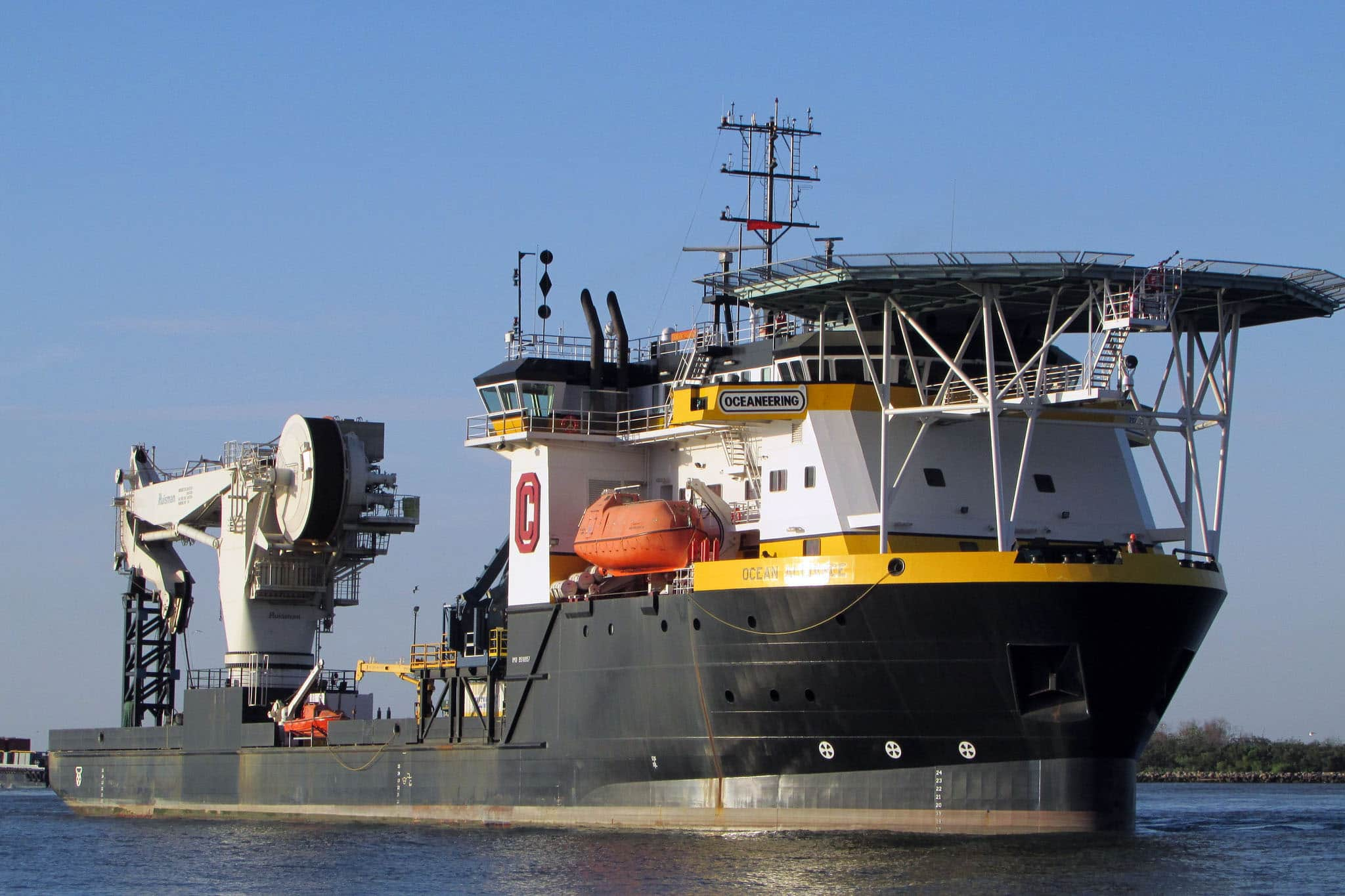 oceaneering, vessel, MSV, Ocean Alliance, IMR, well intervention, stimulation, P&A, installation