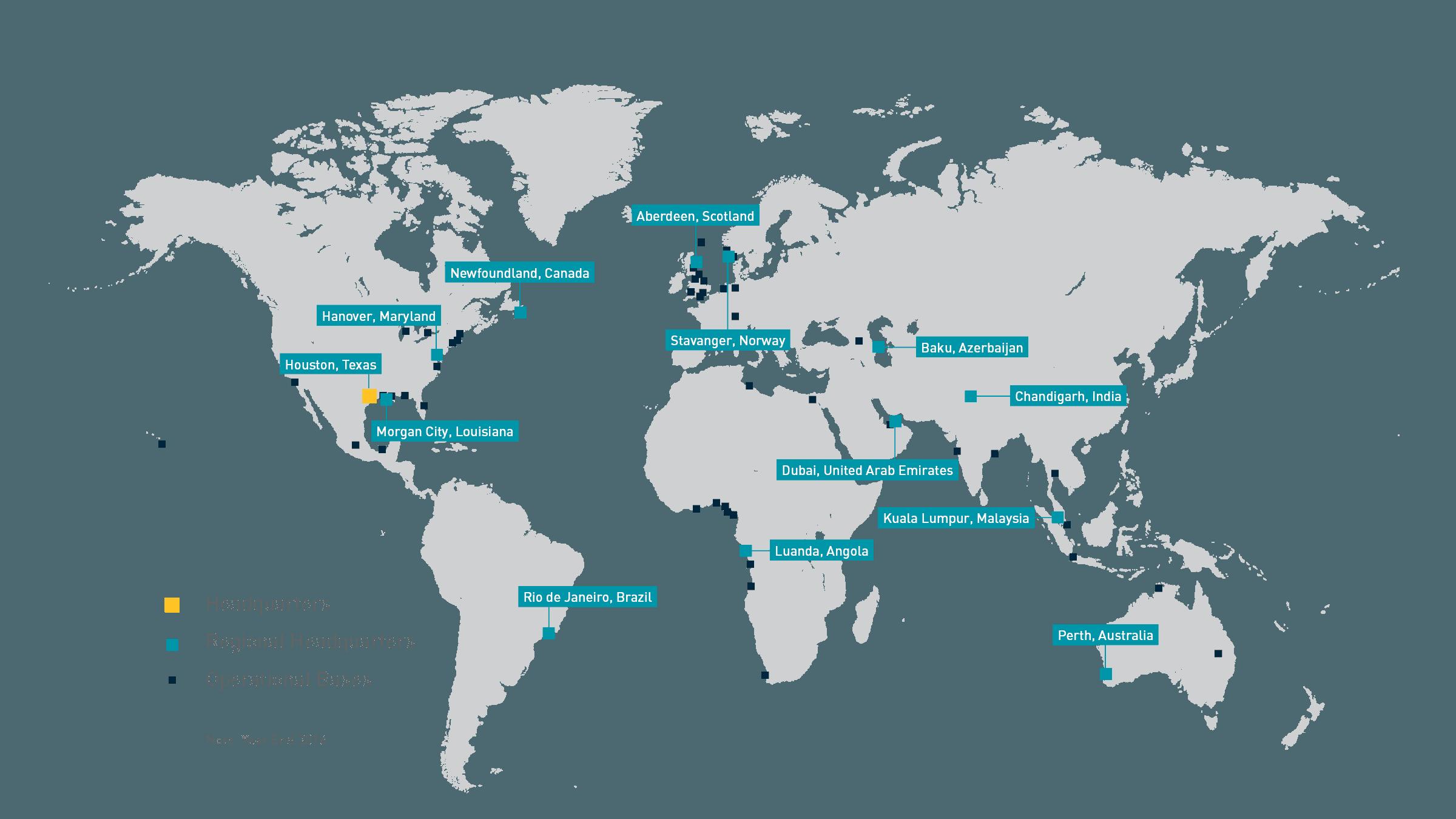 2017 Locations