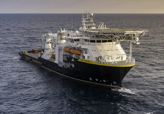Ocean Evolution at sea trails in 2018.