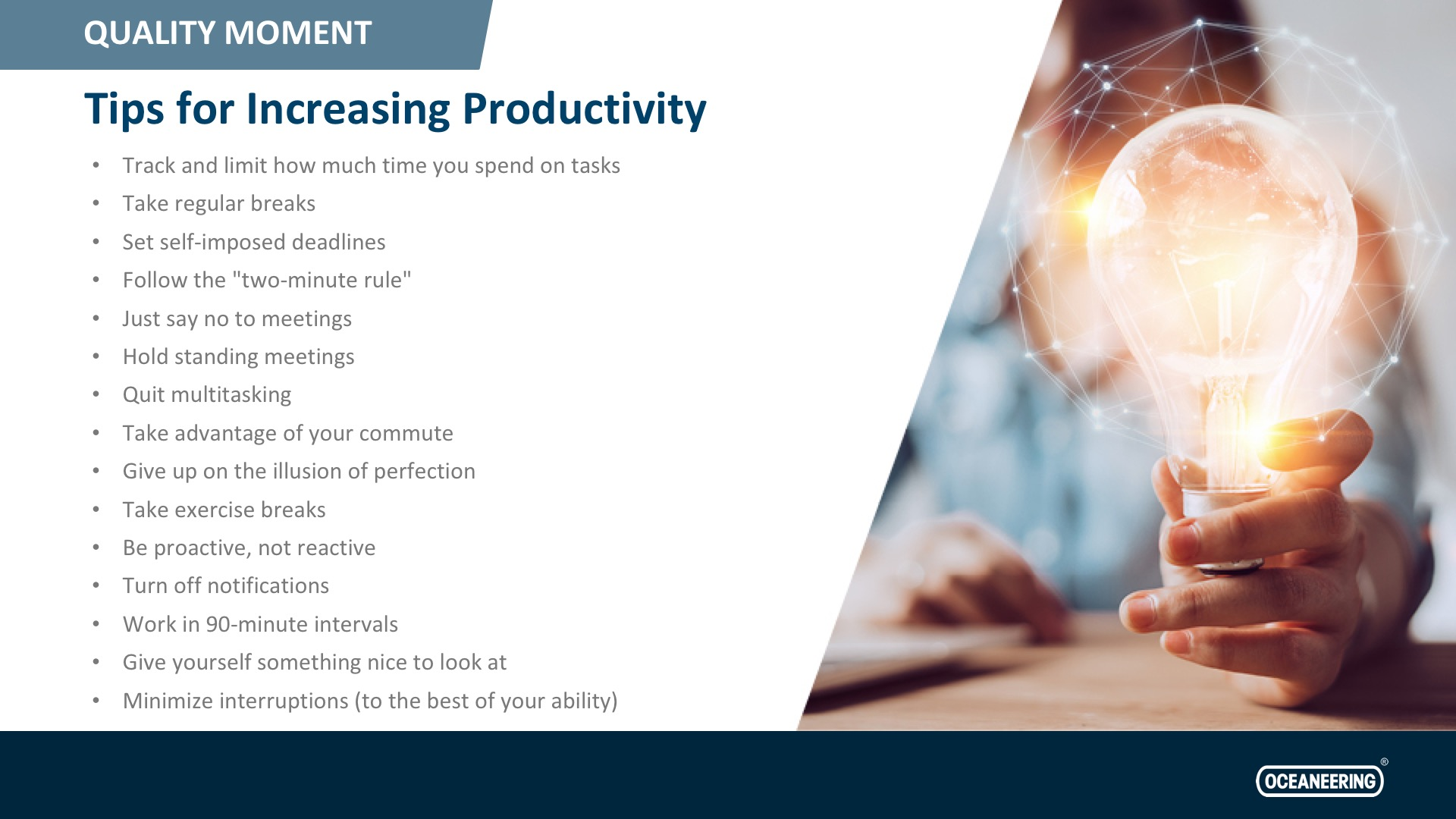 Tips For Increasing Productivity