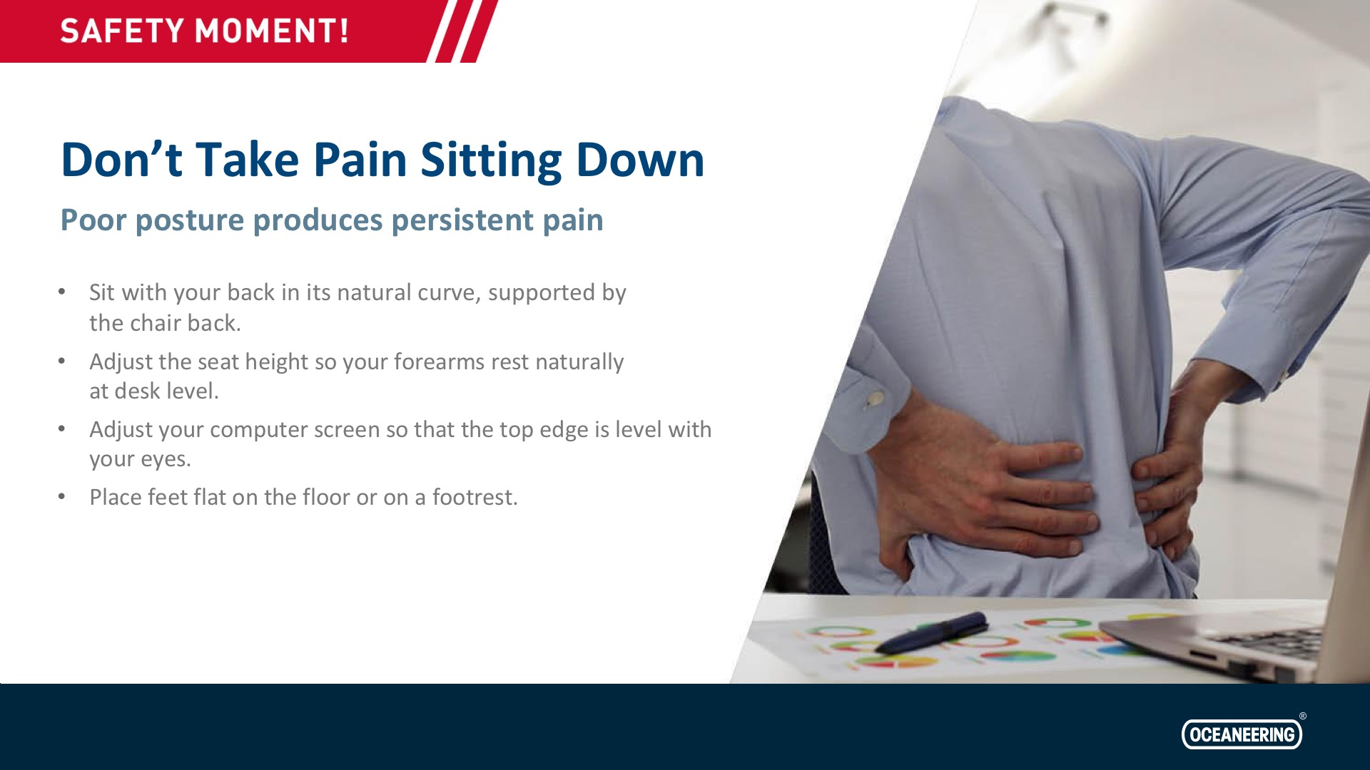 Don't Take Pain Sitting Down