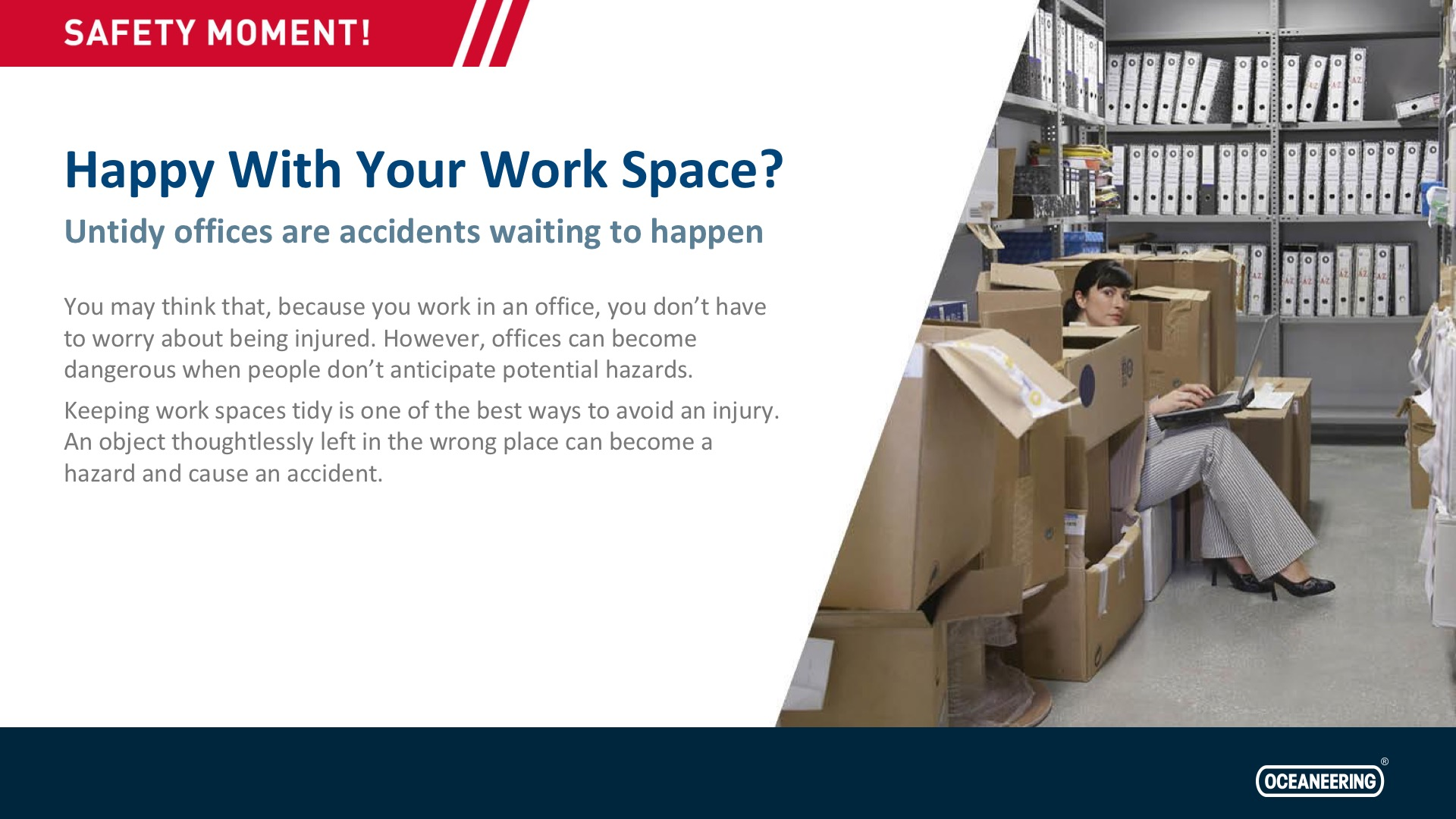 Happy With Your Work Space?