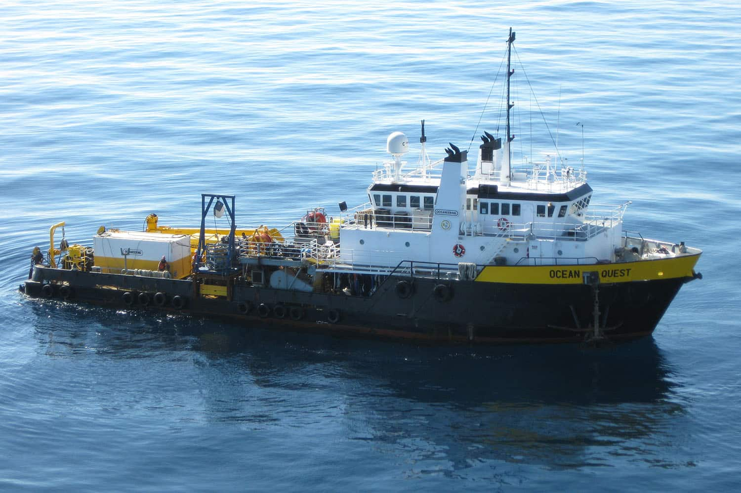 DSV Ocean Quest, subsea welding, diving, U.S. Jones Act