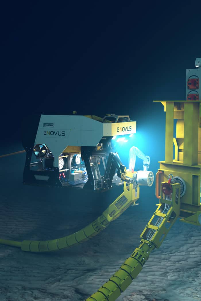 Remotely Operated Vehicles (ROVs) | Oceaneering