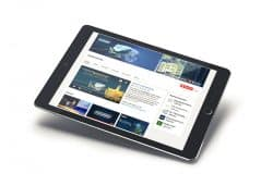 oceaneering, mobile devices