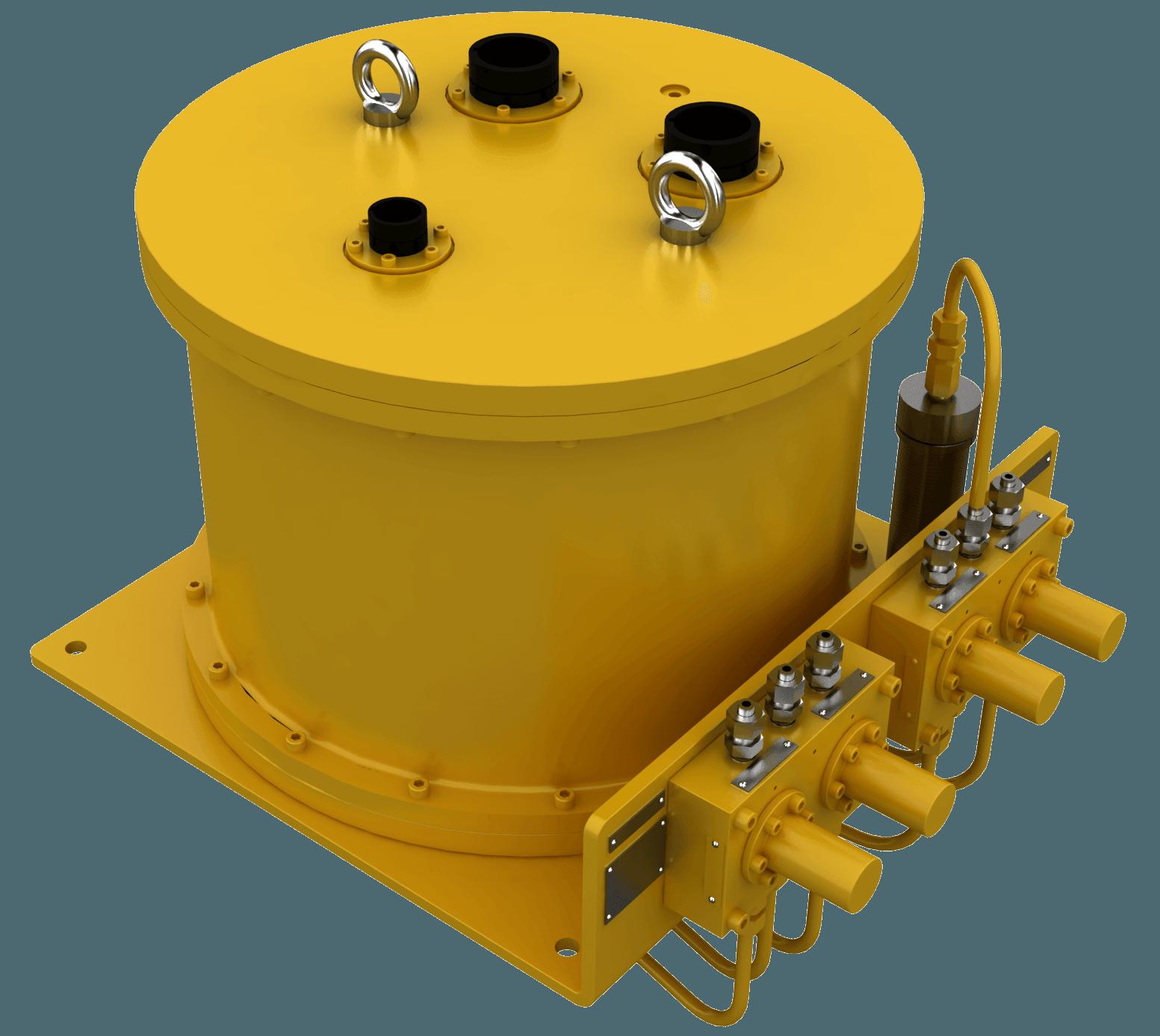 unidade de controle submarino, hardware submarino, CTV, válvulas, distribuição submarina, rotator