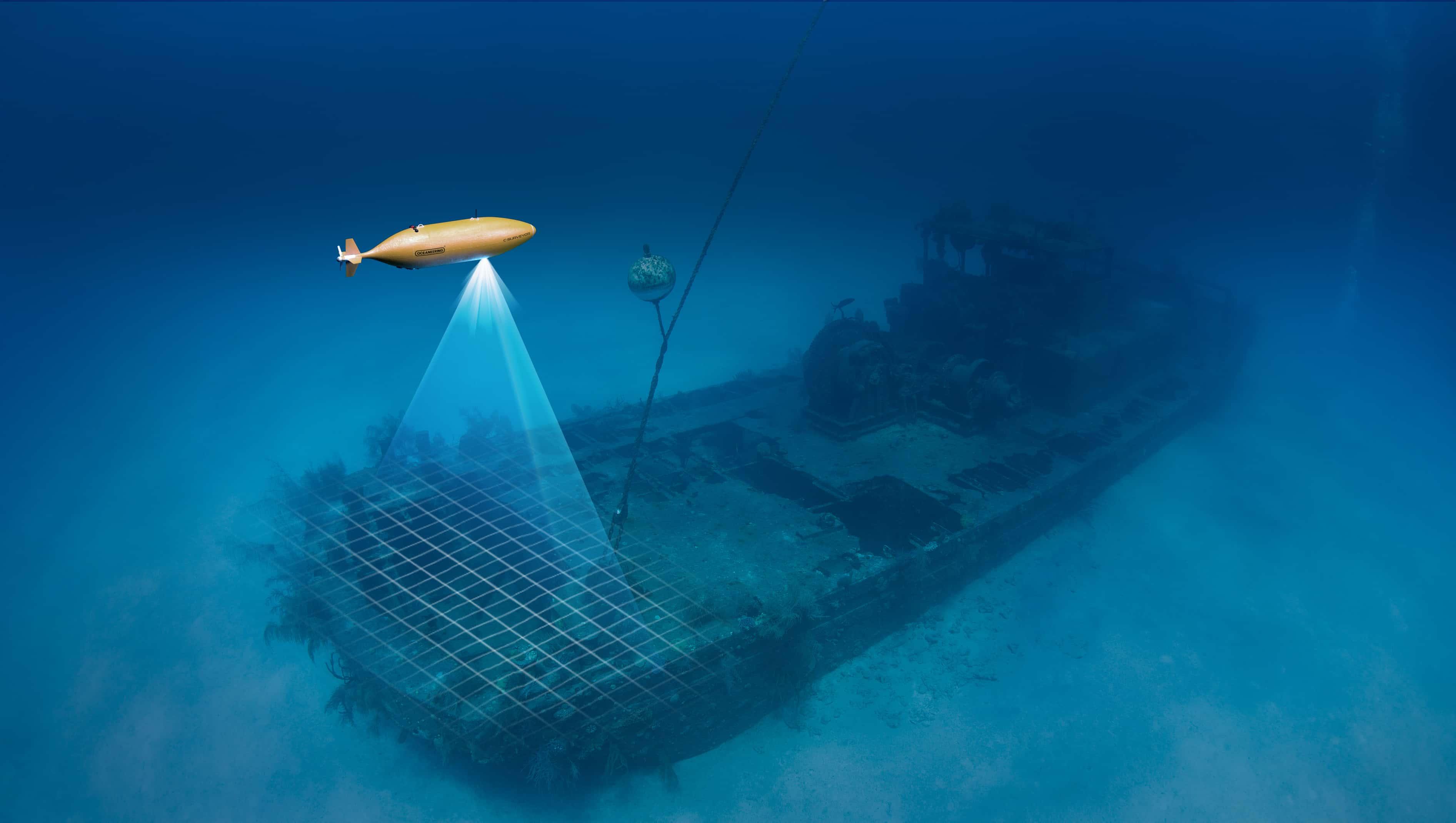 Geoscience And Auv Surveys Oceaneering