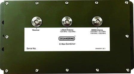 GNSS signal converter, signal combiner, C-Nav combiner