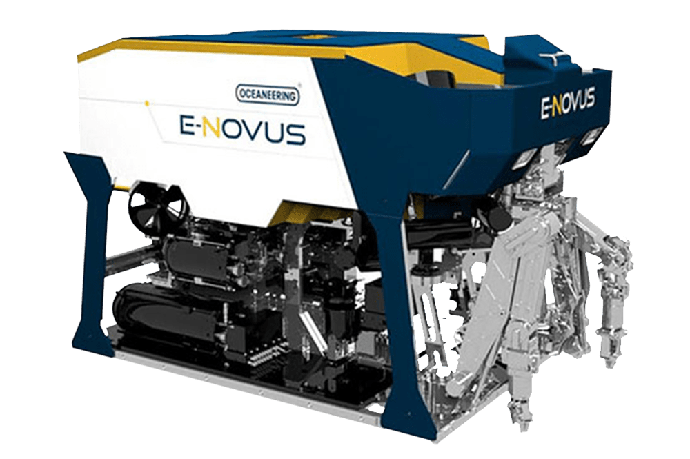 ROV eNovus, propulsão elétrica, ROV Oceaneering