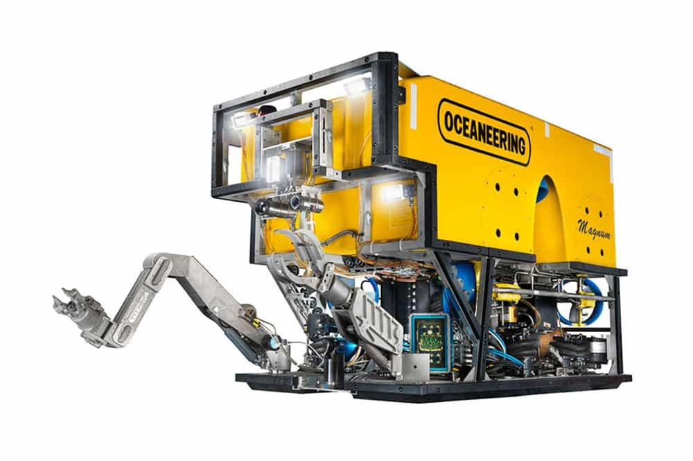 Magnum Plus ROV, intervenção em águas profundas, ferramentas de ROV