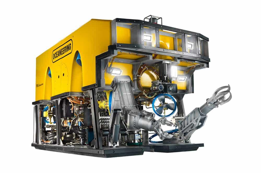 ROV Millennium Plus, capacidade de elevação elevada, ROV em águas profundas