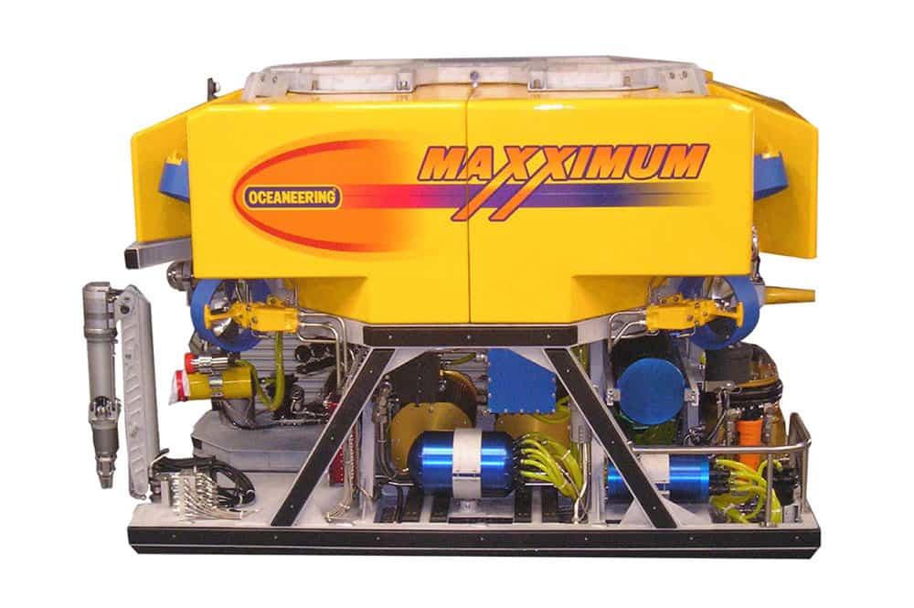 ROV Maxximum, ROV para trabalho pesado, ROV em águas profundas