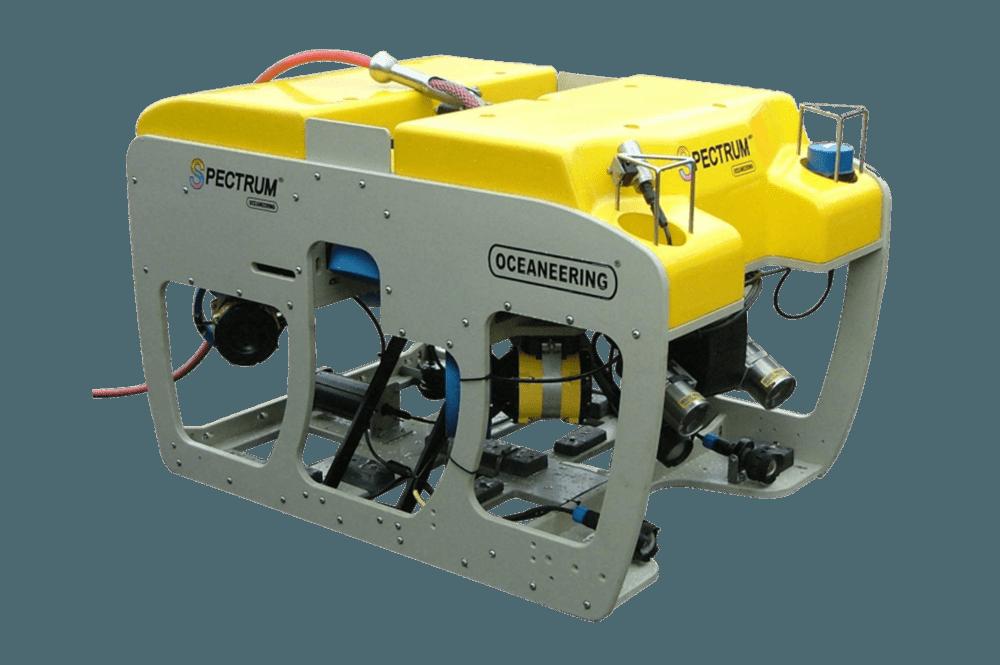 ROV Spectrum, intervenção leve, inspeção submarina