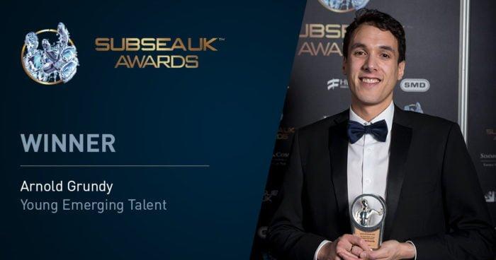 2018 Subsea Expo winner4 700x368 - Oceaneering Employee Arnold Grundy Wins 2018 Subsea UK Young Emerging Talent Award