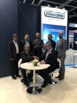 Oceaneering signs strategic agreement with F&M