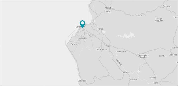 Angola Contact Map