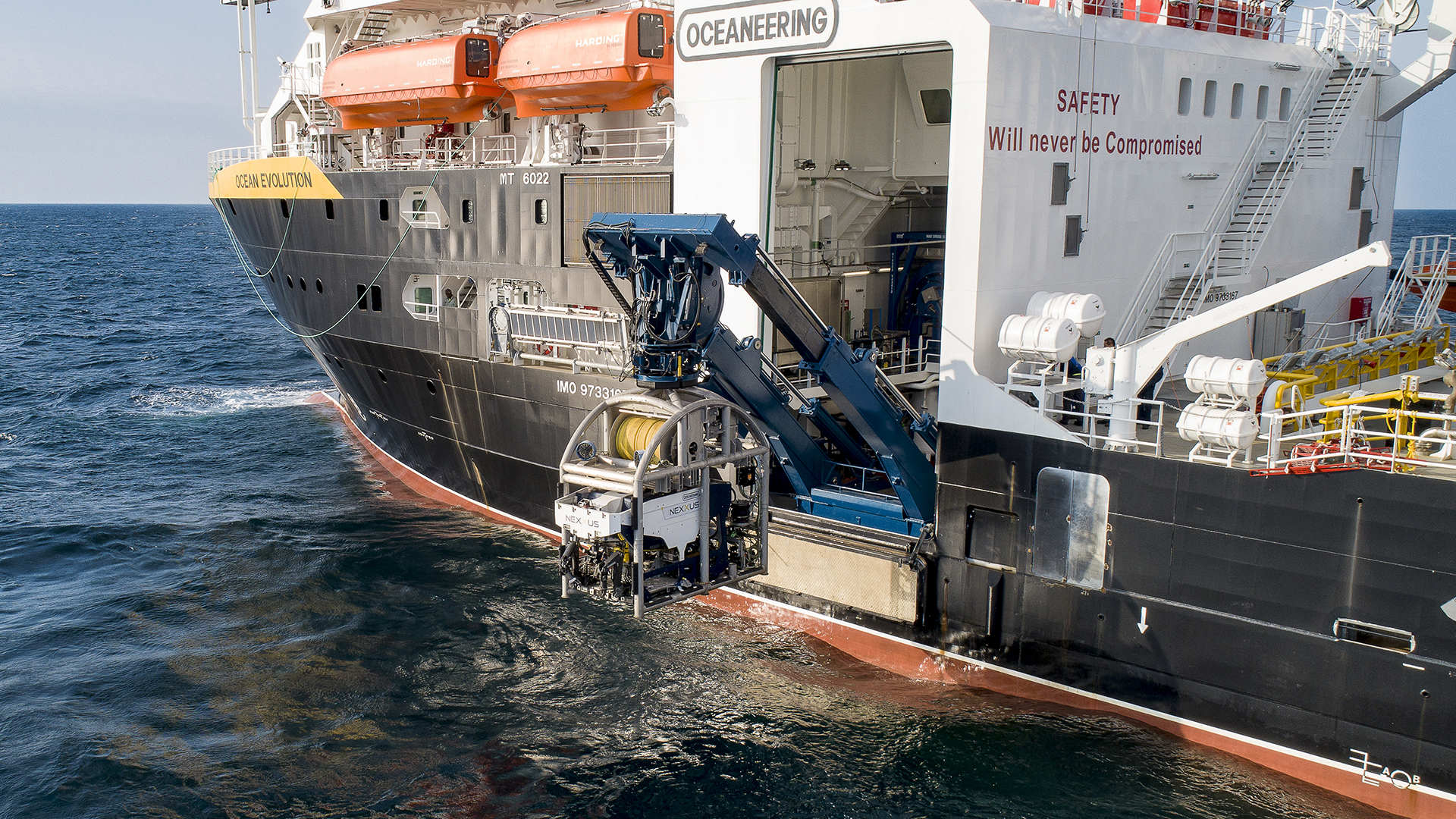 OE ROV Launch Web