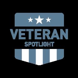 Veteran Spotlight Logo In Color