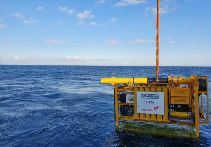 E-ROV testing