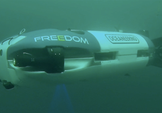 Freedom™ Autonomous Subsea Vehicle undergoes qualification tests in Norway for pipeline survey tasks.