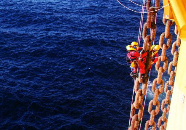 oceaneering, asset integrity, rope access, NDT