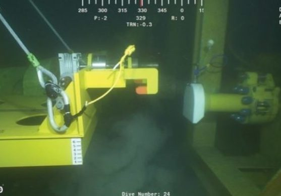 ROV subsea work